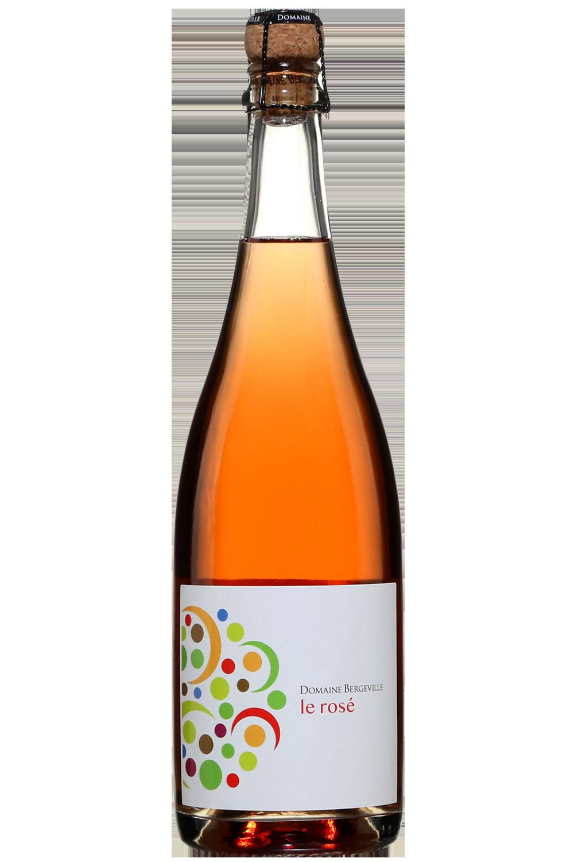 Domaine Bergeville Le Rosé Brut 2017