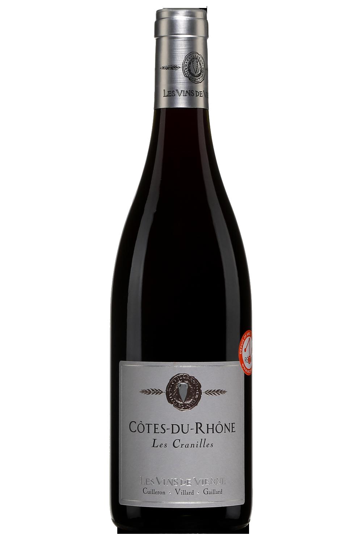 Les Vins de Vienne Les Cranilles Côtes du Rhône 2017