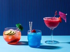 Trois cocktails givrés fièrement québécois