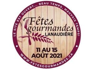 La SAQ est fière d'être partenaire de la 16e édition du Les Fêtes Gourmandes de Lanaudière inc. qui aura lieu du 13 au 15 août 2021.