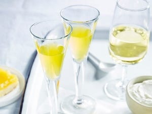Glasses of Limoncello