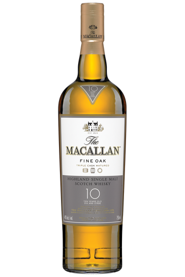The Macallan 10 Years Old Fine Oak Highland Scotch Single Malt