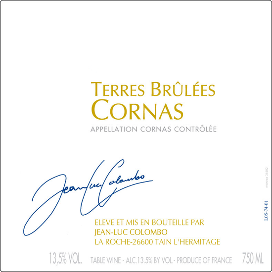 Jean-Luc Colombo Terres Brulées