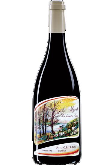 Syrah La Dernière Vigne vin de pays des Collines Rhodaniennes