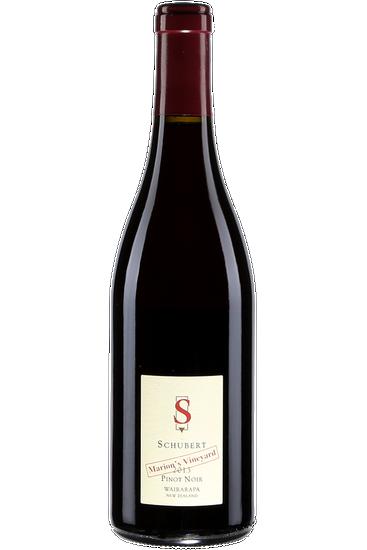 Schubert Marion's Vineyard Pinot Noir