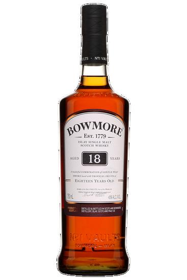 Bowmore 18 Years Old Islay Scotch Single Malt