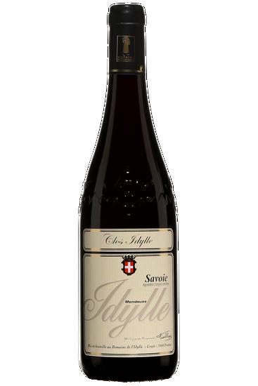 Philippe et François Tiollier Vin de Savoie Mondeuse Clos de l'Idylle Le Tithonien