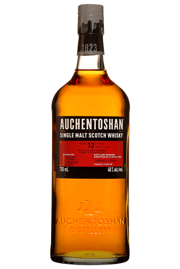Auchentoshan 12 ans Lowland Single Malt Scotch Whisky