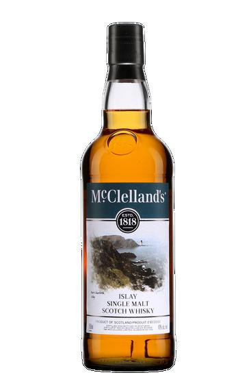McClellands Islay Single Malt Scotch Whisky