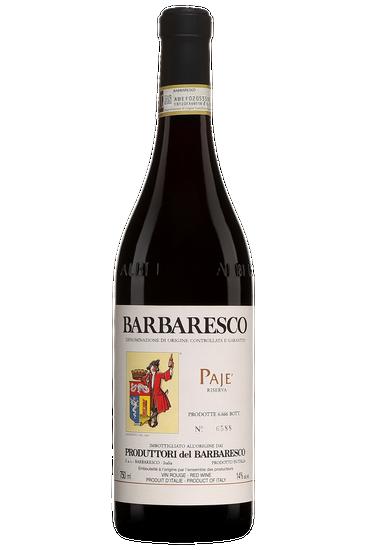 Produttori del Barbaresco Pajè Riserva