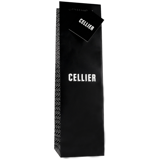 Cellier gift bag for one bottle - grey
