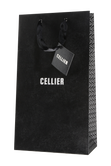 Cellier gift bag for two bottles - black Image