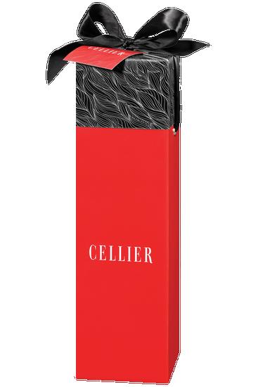 Boîte-cadeau Cellier pour une bouteille - rouge