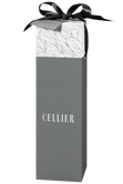 Cellier gift box for one bottle - grey Image
