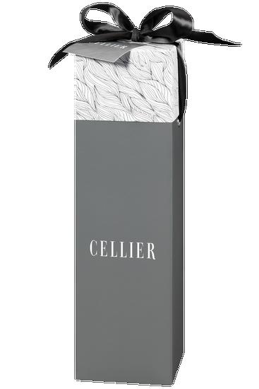Boîte-cadeau Cellier pour une bouteille - grise