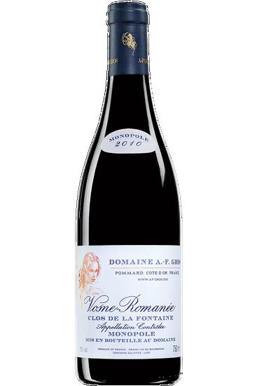 Domaine A.F. Gros Vosne-Romanée Clos de la Fontaine