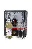 Domaine Lafrance cidre mousseux gazéifié + 2 verres Image