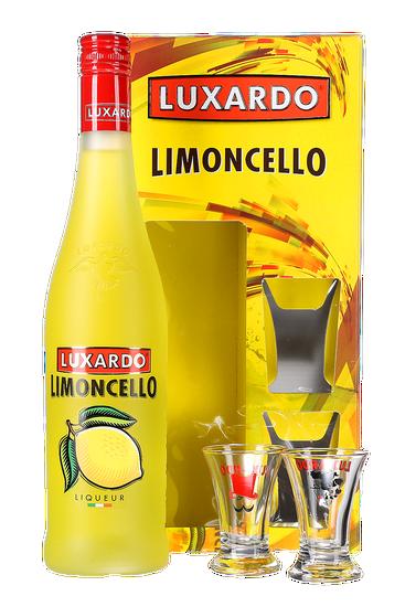 Luxardo Limoncello Coffret Cadeau + 2 verres