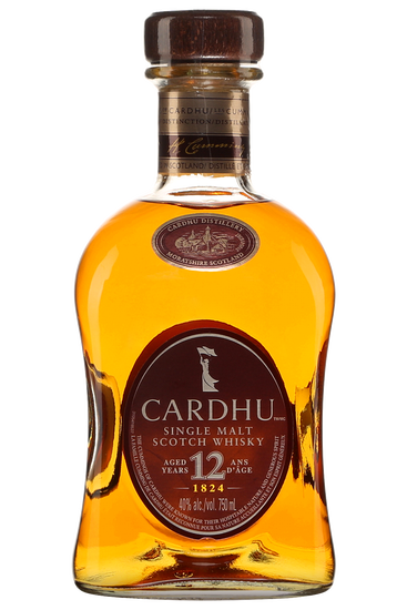 Cardhu Speyside Single malt Scotch whisky