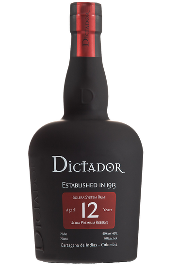 Dictador 12 ans rhum