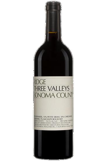 Ridge Vineyards Three Valleys