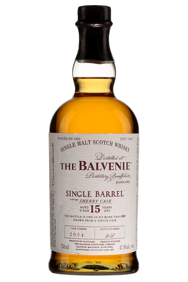 The Balvenie 15 ans Single Barrel Sherry Cask