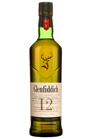 Glenfiddich 12 Ans Highland Single Malt Scotch Whisky