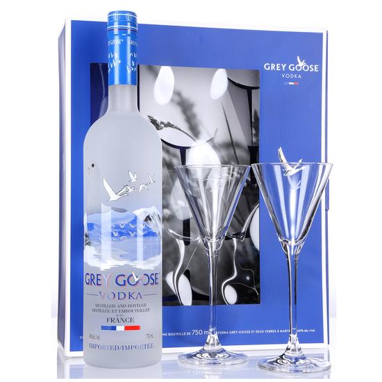 Grey Goose + 2 verres