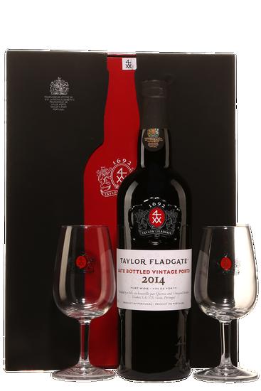 Gift Pack Taylor Fladgate LBV + 2 Glasses