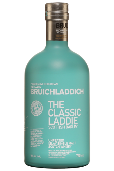 Bruichladdich The Classic Laddie Scottish Barley Unpeated Islay Single Malt Scotch Whisky