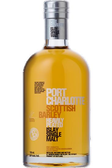 Port Charlotte Scottish Barley Islay Scotch Single Malt