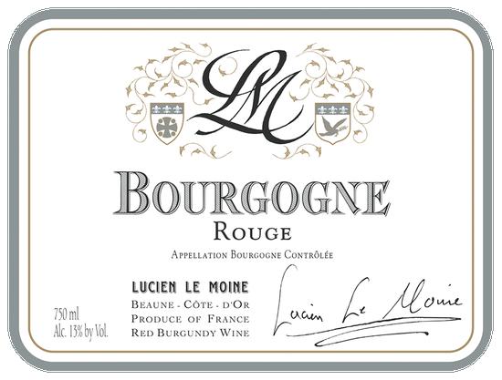 Maison Lucien Le Moine Bourgogne Rouge