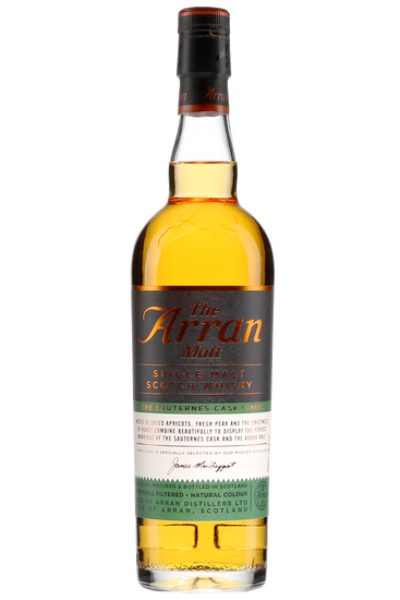 The Arran Whisky Sauternes Cask Finish Scotch Single Malt