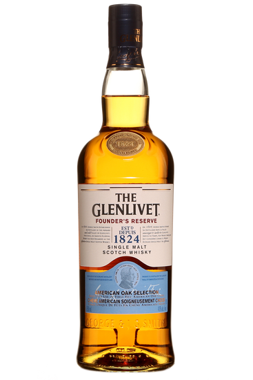 The Glenlivet Founder's Single malt Scotch whisky