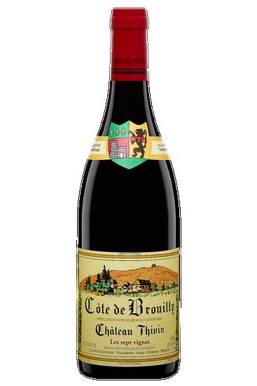 Château Thivin Côte de Brouilly Cuvée Les Sept Vignes