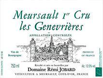 Domaine Rémi Jobard Meursault Premier Cru Les Genevrières