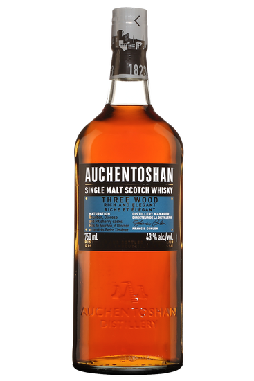 Auchentoshan Three Wood Scotch Single Malt