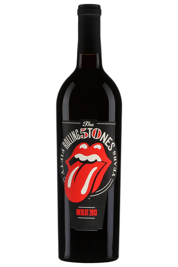 Wines that Rock Merlot The Rolling Stones