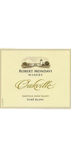 Robert Mondavi Winery Fumé Blanc Oakville