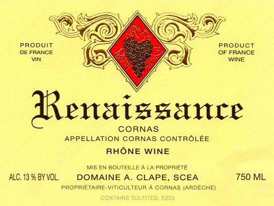 Domaine Auguste Clape Renaissance