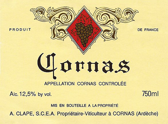 Domaine Auguste Clape Cornas