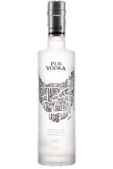 Pur Vodka Édition limitée - 375e anniversaire de Montréal