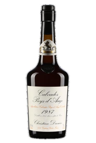 Christian Drouin Calvados Pays d'Auge