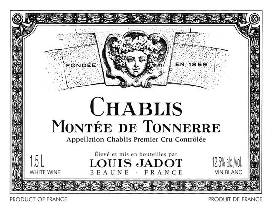 Louis Jadot Chablis 1er Cru Montée de Tonnerre