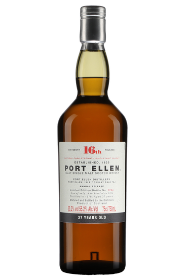 Port Ellen 37 ans 16th Release Islay Single Malt Scotch Whisky