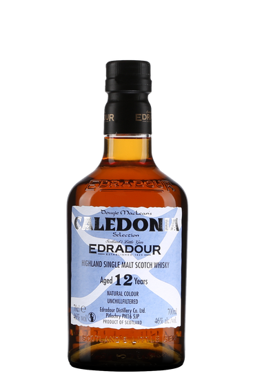 Edradour Caledonia 12 Years Old Unchilfiltere