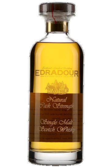 Edradour Natural Cask Strength Bourbon Matured Single Malt