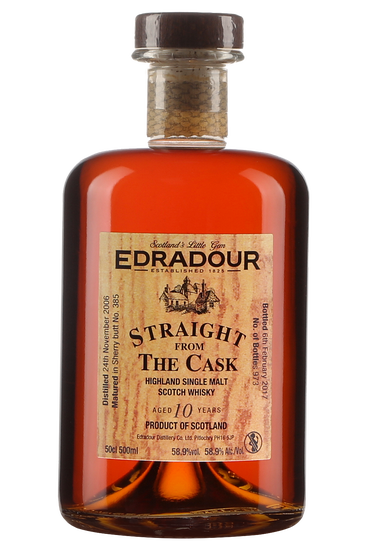 Edradour 10 Ans Straight From The Cask Sherry Single Malt