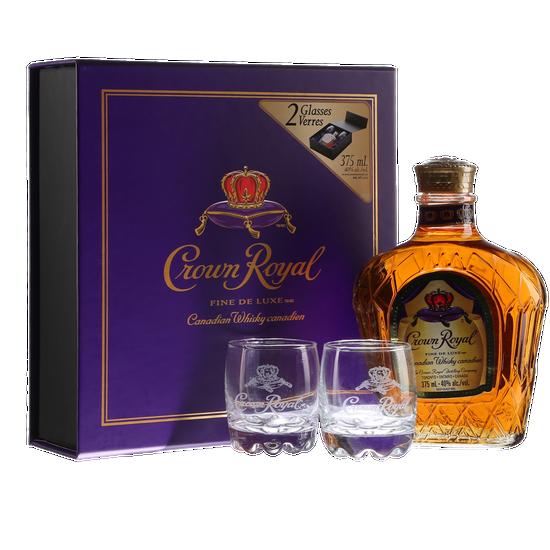 Crown Royal + 2 Verres