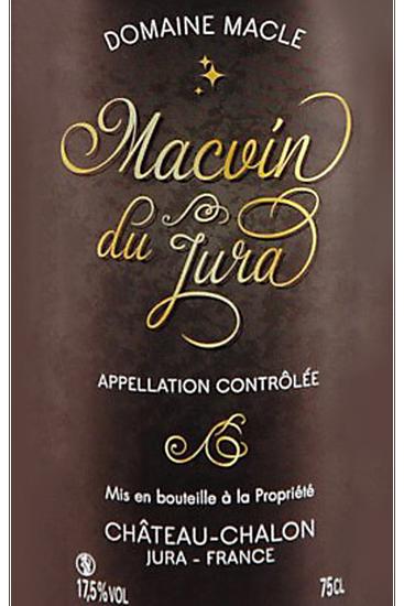 Domaine Macle Macvin du Jura